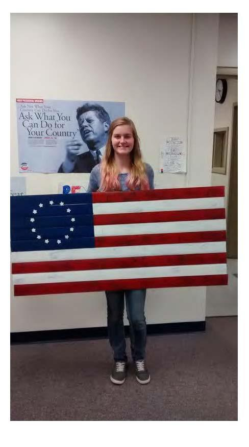 student pic - flag