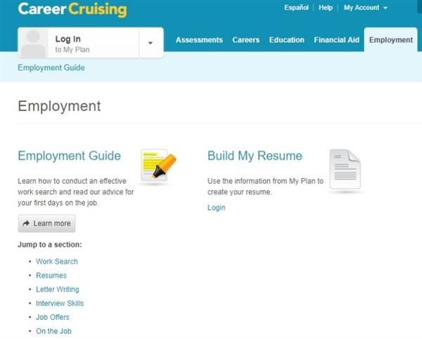 curriculm instruction and assessment career cruising